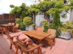 Roof Top Terrace With BBQ Area