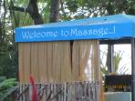 Massage at Jaco Beach