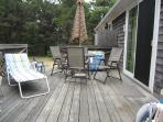 Another picture of the back deck