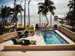 Palm House - Newly Updated Beachfront Home w/ Pool