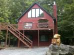 Hideout Poconos Rental One Block from Beach,Ski