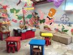Kid's Breakfast Area - free for 5 years old, half price for 5-16 years old