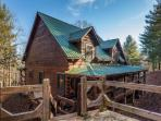 Little Piece of Heaven - This vacation cabin is located just north of Blue Ridge about 2 miles.