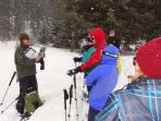 Snow Shoeing with the Park Rangers at Rocky Mountain National Park
