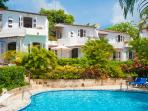 Merlin Bay - Nutmeg at Merlin Bay, Barbados - Beachfront, Pool, Lush Tropical Landscaping