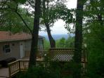 Mountain cabin w/ hot tub + Shenandoah Valley view