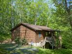 Todd NC Log Cabin Vacation Rental - Near Boone and West Jefferson