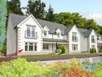 THE OAKS, RIVER COURT, ground floor apartment, off road parking, garden, close to river, in Invergarry, Ref 18883