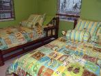 Twin Beds on main floor with full ensuite
