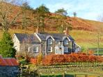 CWM LLAN, woodburner, parking, garden, in Llangwm, Ref 17835