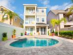 Reunion 2 - 5 bedroom house with pool in Kissimmee