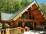Unique Colorado Style Log Cabin - Amazing Views, Hot Tub, Totally Private
