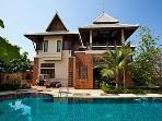 Beverly Thai House Pool Villa Rhodium PATTAYA