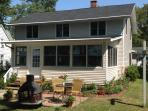Lake Front Home with Boat Dock..walk to Bemus!