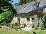 Idyllic Riverside Cottage in Brittany, France