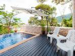 Patong Sea view private pool villa