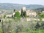 Charming 2 Bedroom Castle Apartment in Tuscany