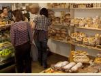 Tomer's bread bakery (5 mins walking distance from the apartment)