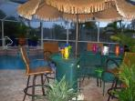 Villa Sharan - SE Cape Coral 3b/2ba Electric Heated Pool/Spa Fresh water Canal, HS Internet,