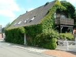Vacation Apartment in Bruchhausen-Vilsen - 323 sqft, quiet, central, idyllic (# 3373)