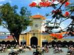 Ben Thanh Market is only one minute from the front door