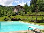 Lovely house near Lucca&Florence w/ beautiful view
