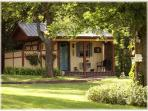 The Calico Cabin~Clean Lil' Bed & Bath on Farm!