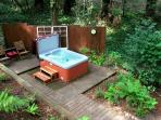 'The Little Red House!' Hot Tub! 5 min walk to Golf Course! Brand NEW Rental!