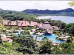 Overview of nearby Melia Conchal Resort, which is five minutes away from our house. The pool at center is the largest...