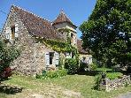 Charming, roomy country gite for 2 to 4 people