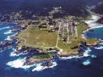Mendocino from the air