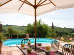 3BDR cosy house ,pool,WiFi,AC in Siena countryside