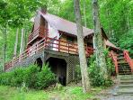 Spirit of the River, Easy Access, Large Jacuzzi Tub in Master, Private, Fishing from the Cabin, Wood Burning FP