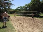 Beach volleyball at Tryall