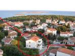 Apartment for 4 persons near the beach in Premantura