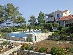 Apartment for 4 persons, with swimming pool , near the beach in Korcula