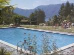 Attractive apartment for 6 persons, with swimming pool , in Luino