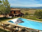 Luxury holiday house for 11 persons, with swimming pool , in Florence