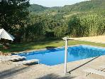 Holiday house for 6 persons, with swimming pool , in Orvieto