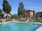 Attractive apartment for 6 persons, with swimming pool , in San Gimignano