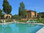 Apartment for 3 persons, with swimming pool , in San Gimignano