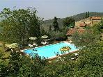 Apartment for 5 persons, with swimming pool , in Cortona