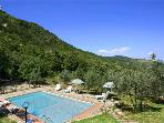 Holiday house for 12 persons, with swimming pool , in Chianti