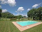 Attractive apartment for 2 persons, with swimming pool , in Lucca