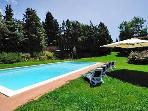 Apartment for 2 persons, with swimming pool , in Chianti