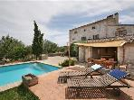 Holiday house for 8 persons, with swimming pool , in Pollenca