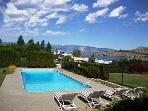 Downtown Chelan Lakeview Home with Private Outdoor Pool & Hot Tub