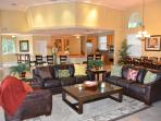 Large Spacious Open Living Area Offering Direct Poolside & Lounge Access...
