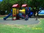 Playground at Park plus swings not shown