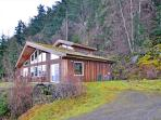 Northern Lights is a snug contemporary home at the base of Mt. Constitution.